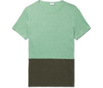 Chad Colour-block Linen T-shirt