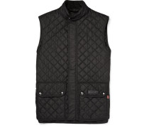 Slim-fit Quilted Shell Gilet