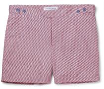 Pepe Mid-length Printed Swim Shorts