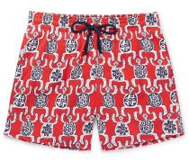 Moorise Mid-length Printed Swim Shorts
