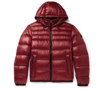 Quilted-shell Hooded Down Jacket
