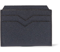 Pebble-Grain Leather Cardholder