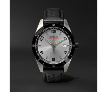 TimeWalker Date Automatic 41mm Stainless Steel, Ceramic and Rubber Watch, Ref. No. 116059