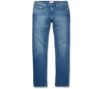 L'homme Slim-fit Stretch-denim Jeans - Blue