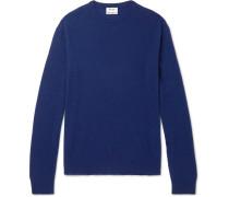 Niale Wool-blend Sweater - Navy