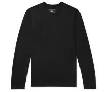 Piqué T-shirt - Black