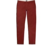 484 Slim-fit Stretch-cotton Twill Chinos