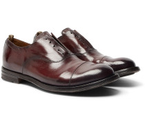 Anatomia Cap-toe Polished-leather Derby Shoes