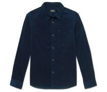 John Cotton-Velvet Shirt
