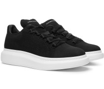 Exaggerated-sole Mesh Sneakers