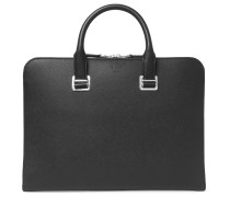 Cadogan Pebble-Grain Leather Briefcase