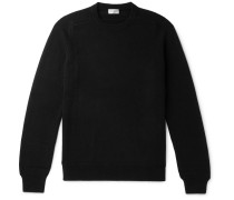 Slim-fit Cashmere Sweater - Black