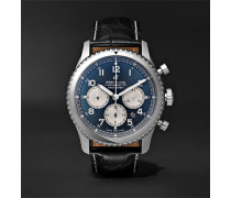Navitimer 8 B01 Chronograph 43mm Stainless Steel And Alligator Watch