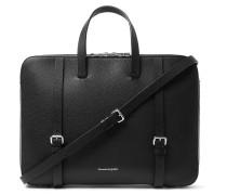 Full-grain Leather Briefcase - Black