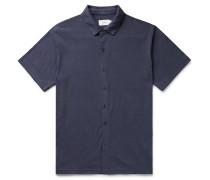 Dylan Linen-Blend Jersey Shirt