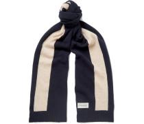 Arbury Striped Wool Scarf