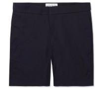Ivar Slim-fit Mid-length Swim Shorts - Midnight blue