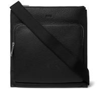 Crosstown Full-grain Leather Messenger Bag