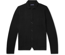 Unstructured Merino Wool Blazer