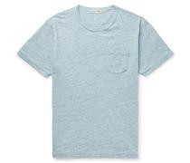 Mélange Slub Cotton-jersey T-shirt