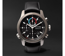 Ac-r-ii America's Cup Regatta Chronograph 43mm Stainless Steel And Rubber Watch - Navy
