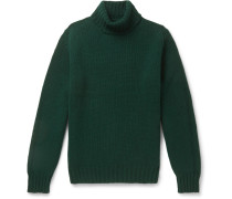 Slim-Fit Lambswool Rollneck Sweater