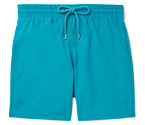 Moorea Mid-length Water-reactive Swim Shorts - Blue