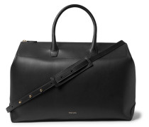 Leather Holdall - Black