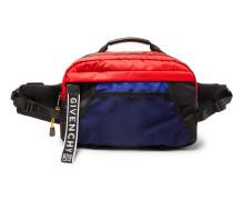Ut3 Colour-block Shell Belt Bag - Blue