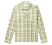 Patchwork Striped Cotton Shirt