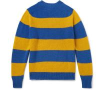 + Drake's Striped Wool Sweater