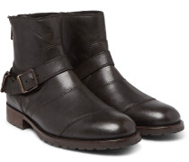 Trialmaster Waxed-leather Boots