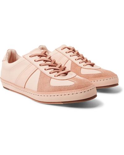 Hender Scheme Herren Mip-05 Suede-trimmed Leather Sneakers Wie Viel Zu Verkaufen Online Zum Verkauf Authentisch Günstiger Preis 35IVwV