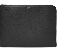 Full-grain Leather Pouch - Black