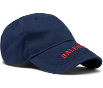 Logo-embroidered Cotton-twill Baseball Cap