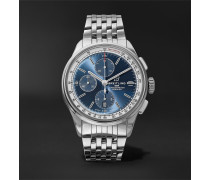Premier Automatic Chronograph 42mm Stainless Steel Watch - Blue