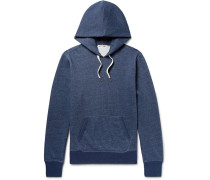 Fleece-back Cotton-blend Jersey Hoodie