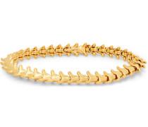 Serpent's Trace Slim Gold-plated Bracelet - Gold