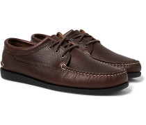Blucher Leather Boat Shoes