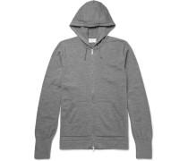 Merino Wool Zip-up Hoodie