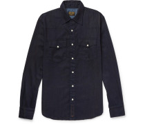 + Jean Shop Statesman Selvedge Denim Shirt