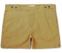 Leme Short-length Printed Swim Shorts