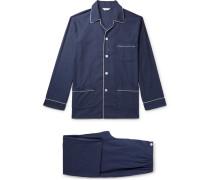 Balmoral Herringbone Cotton Pyjama Set