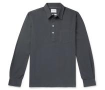 Oscar Cotton Oxford Half-Placket Shirt