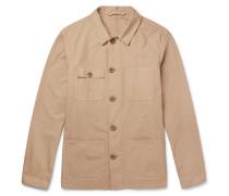 Cotton-poplin Shirt Jacket