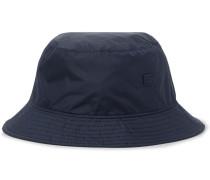 Logo-appliquéd Nylon Bucket Hat - Midnight blue