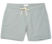 Colin Mid-length Swim Shorts - Light blue
