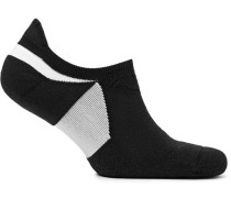 Elite Cushioned Dri-fit No-show Socks - Black
