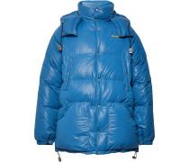 Kodiak Quilted Nylon Down Jacket - Blue
