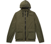Ambroise Ripstop Hooded Jacket - Army green